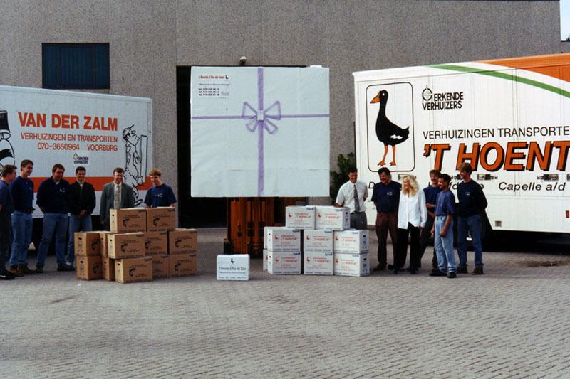 Fusie van de 2 bedrijven Het Hoentje.. en Van der Zalm
