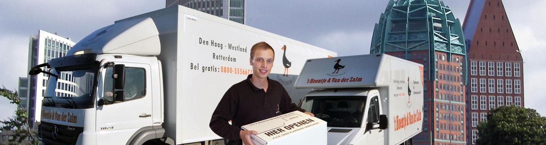 Containerverhuizing Het Hoentje & van der Zalm Den Haag